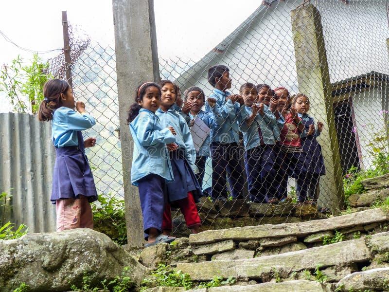 Παιδιά από Tallo Chipla στοκ εικόνες