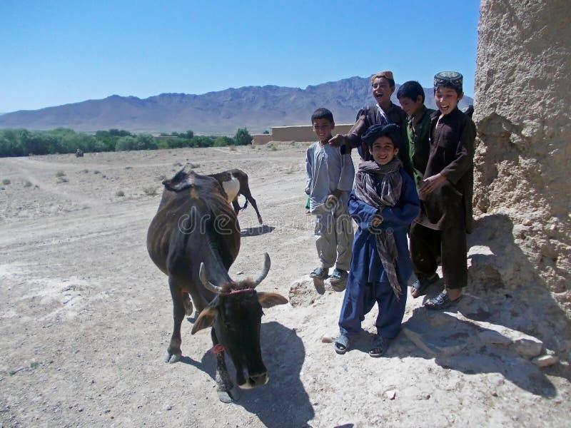 Παιδιά στο Αφγανιστάν στοκ εικόνες