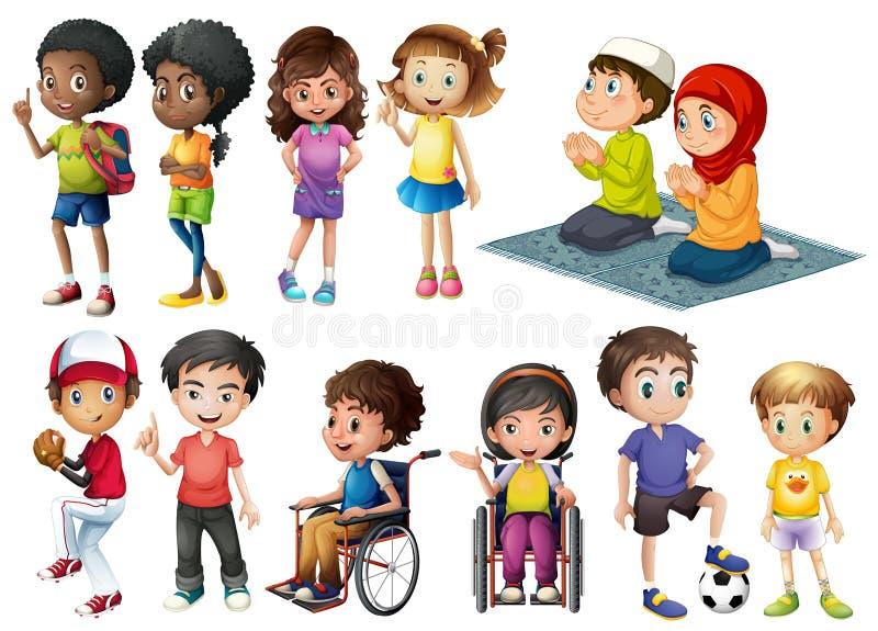 Παιδιά απεικόνιση αποθεμάτων
