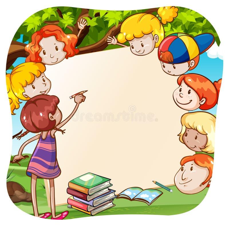 Παιδιά διανυσματική απεικόνιση