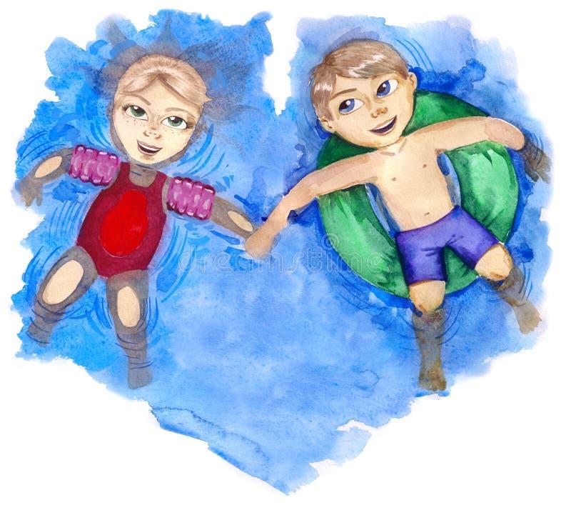 Παιδική ηλικία διανυσματική απεικόνιση