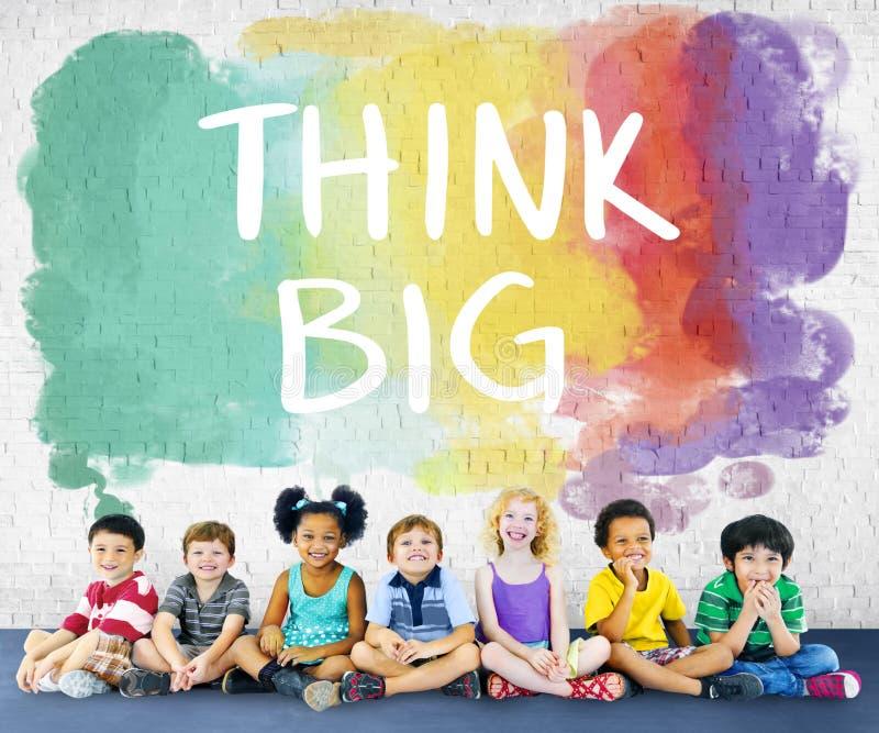 Παιδιών παιδιών εύθυμη έννοια ομάδας ευτυχίας πολυ εθνική στοκ εικόνες