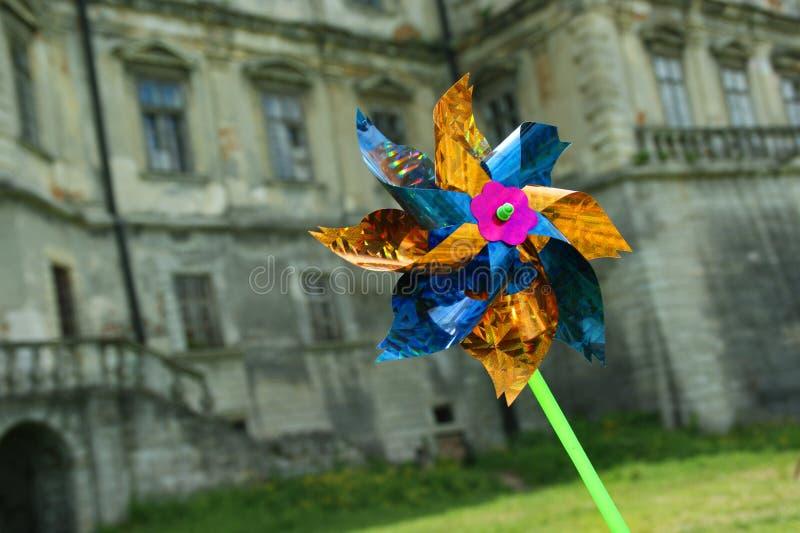 Παιδιών pinwheel στοκ εικόνες