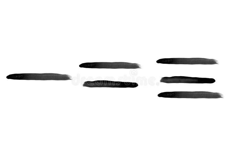 Πακέτο απομονωθέντων στελεχών με αφηρημένη γραφή διανυσματική απεικόνιση