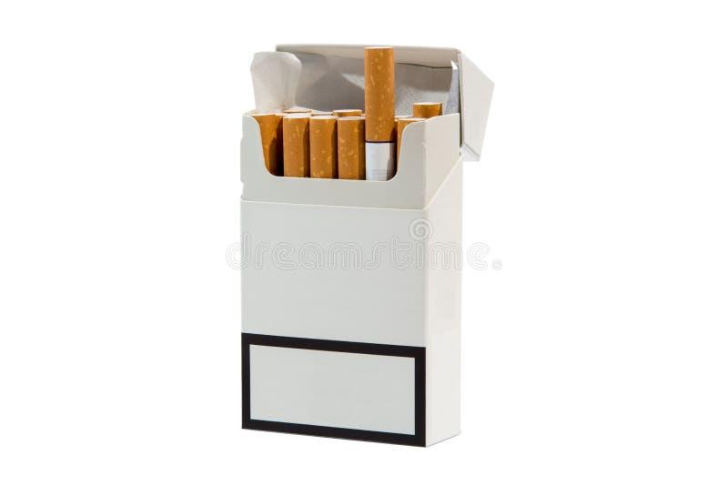 Πακέτο τσιγάρων στοκ φωτογραφίες με δικαίωμα ελεύθερης χρήσης