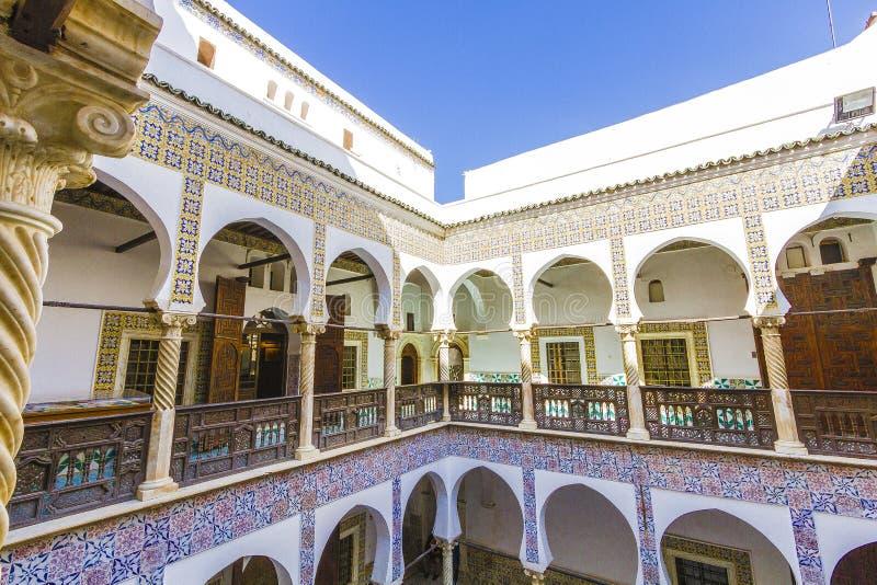 Παλάτια του Αλγερι'ου στοκ φωτογραφίες