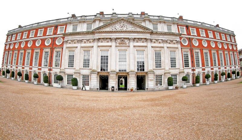 παλάτι δικαστηρίων hampton στοκ φωτογραφία με δικαίωμα ελεύθερης χρήσης
