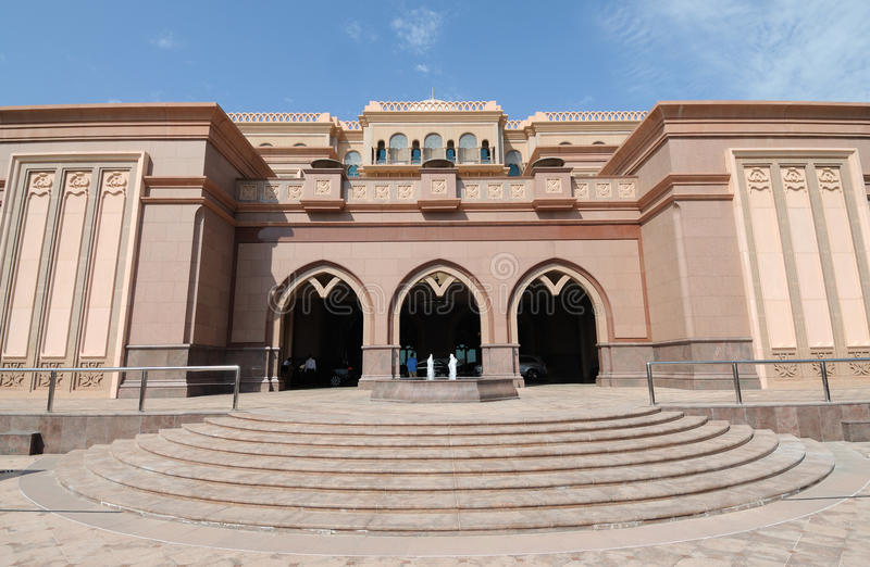 Download παλάτι εμιράτων του Αμπού Ν&t Στοκ Εικόνα - εικόνα από ταξίδι, εξωτερικό: 13175755