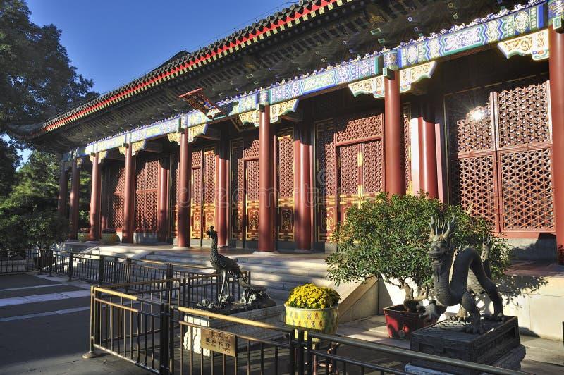 Παλάτι θερινών παλατιών του Πεκίνου στοκ εικόνα με δικαίωμα ελεύθερης χρήσης