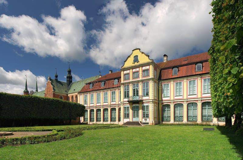 παλάτι καθεδρικών ναών opatow στοκ φωτογραφίες με δικαίωμα ελεύθερης χρήσης