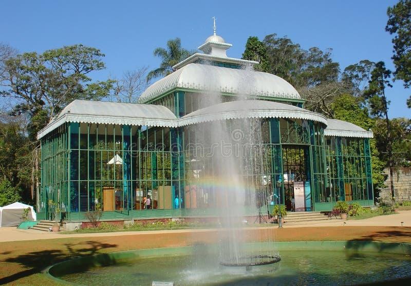 παλάτι κρυστάλλου στοκ εικόνα με δικαίωμα ελεύθερης χρήσης