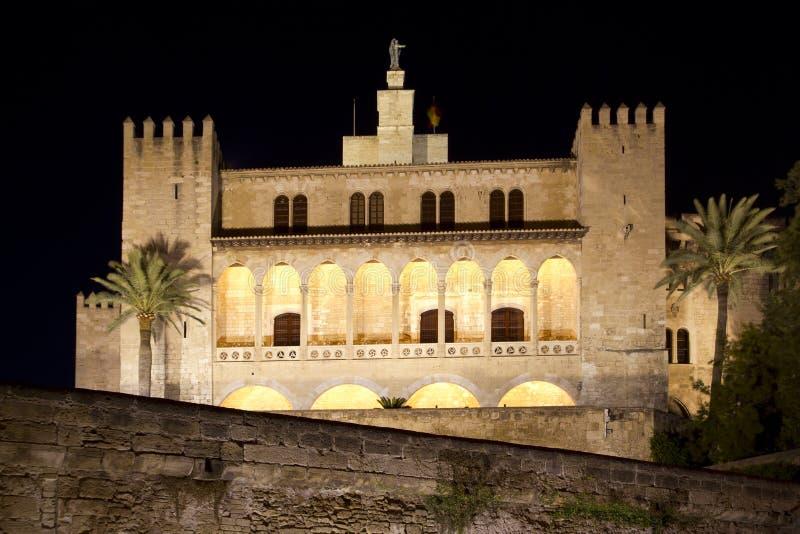 Παλάτι Λα Almudaina σε Palma de Μαγιόρκα στοκ φωτογραφία με δικαίωμα ελεύθερης χρήσης