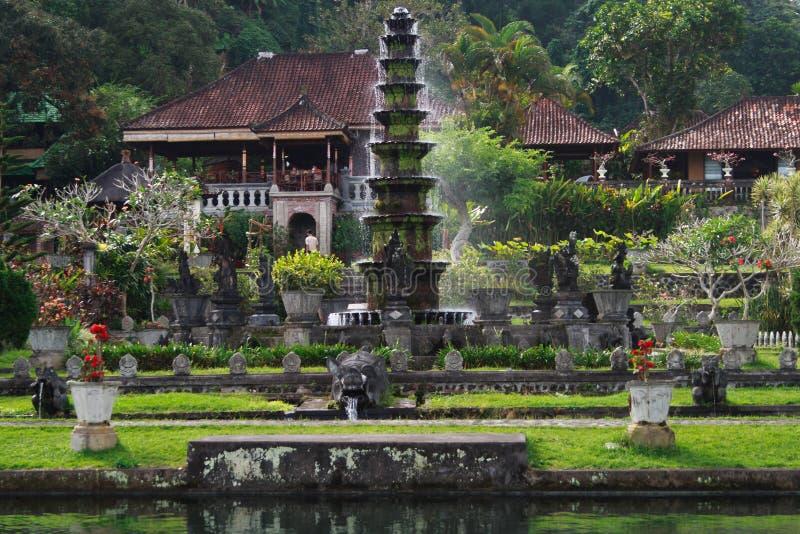 Παλάτι νερού Gangga Tirta στοκ φωτογραφία με δικαίωμα ελεύθερης χρήσης