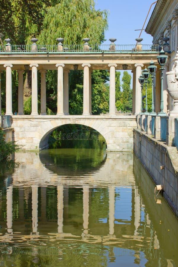 παλάτι Πολωνία βασιλική Β&a στοκ εικόνες