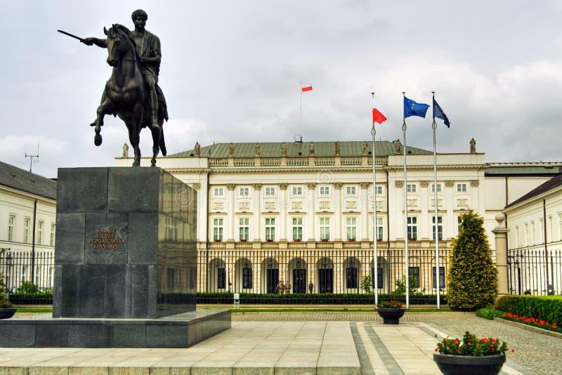 παλάτι προεδρική Βαρσοβί&al στοκ φωτογραφία με δικαίωμα ελεύθερης χρήσης
