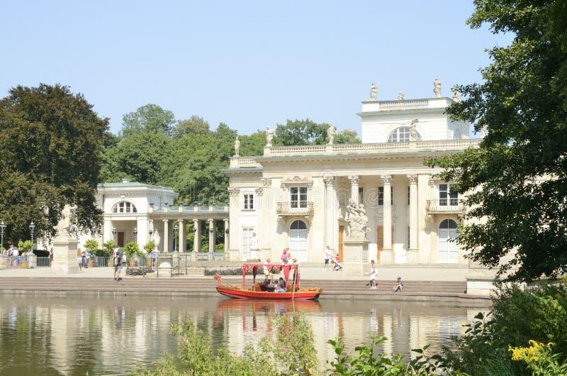 Παλάτι στο ύδωρ στοκ εικόνες με δικαίωμα ελεύθερης χρήσης