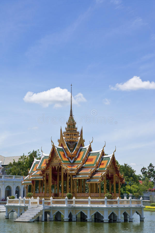 παλάτι Ταϊλάνδη bangpa στοκ εικόνες με δικαίωμα ελεύθερης χρήσης