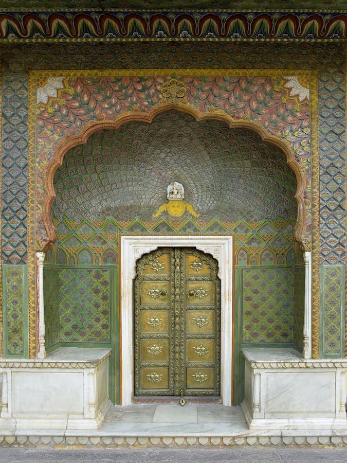 παλάτι της Ινδίας Jaipur πόλεων στοκ φωτογραφίες