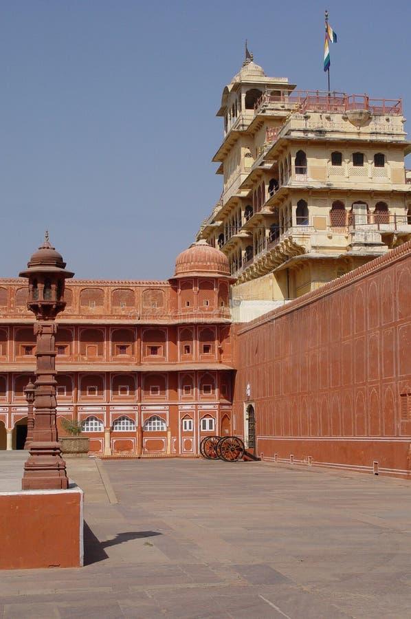 παλάτι της Ινδίας Jaipur πόλεων στοκ εικόνα με δικαίωμα ελεύθερης χρήσης