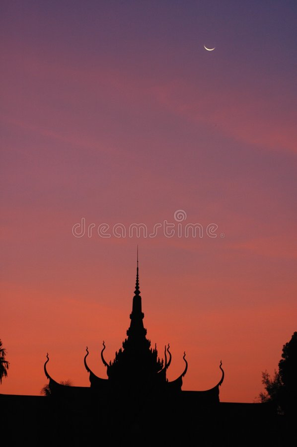 παλάτι της Καμπότζης βασιλικό στοκ φωτογραφία με δικαίωμα ελεύθερης χρήσης