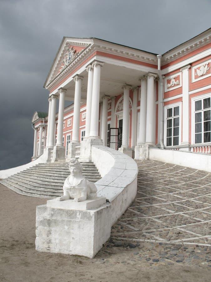 παλάτι της Μόσχας kuskovo στοκ εικόνα