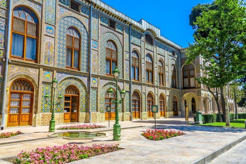 Παλάτι 06 της Τεχεράνης Golestan στοκ εικόνα