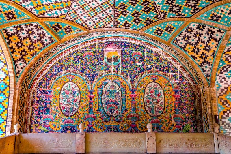 Παλάτι 10 της Τεχεράνης Golestan στοκ εικόνες
