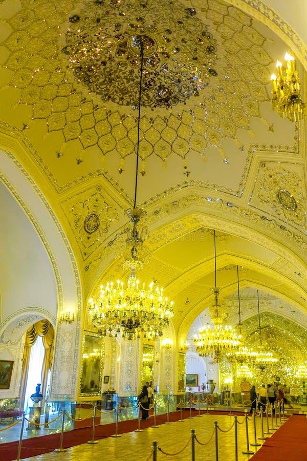 Παλάτι 18 της Τεχεράνης Golestan στοκ φωτογραφίες