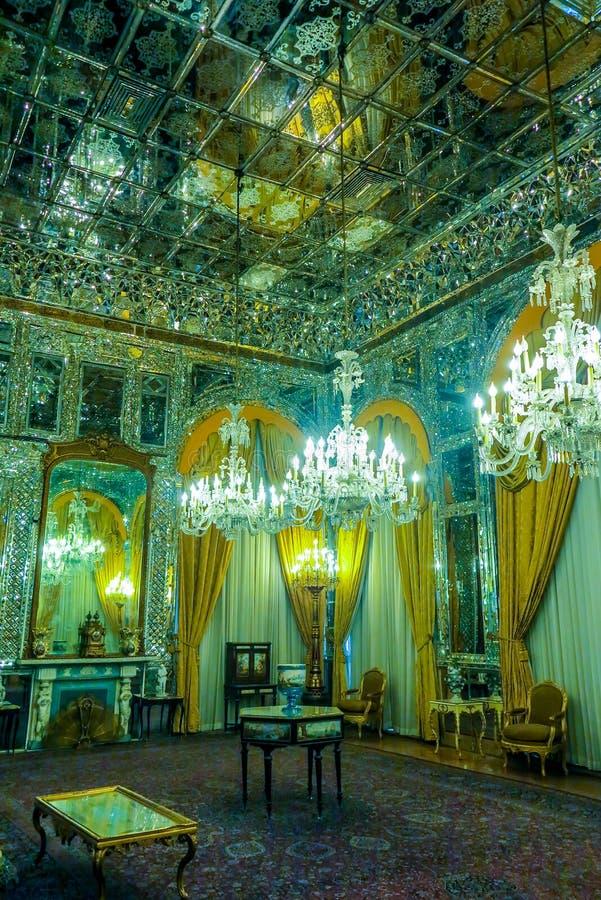 Παλάτι 17 της Τεχεράνης Golestan στοκ εικόνα