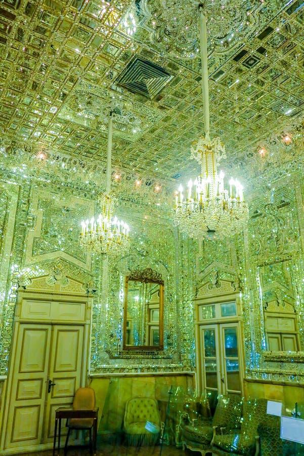 Παλάτι 21 της Τεχεράνης Golestan στοκ εικόνες