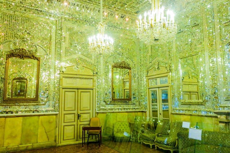 Παλάτι 20 της Τεχεράνης Golestan στοκ εικόνες
