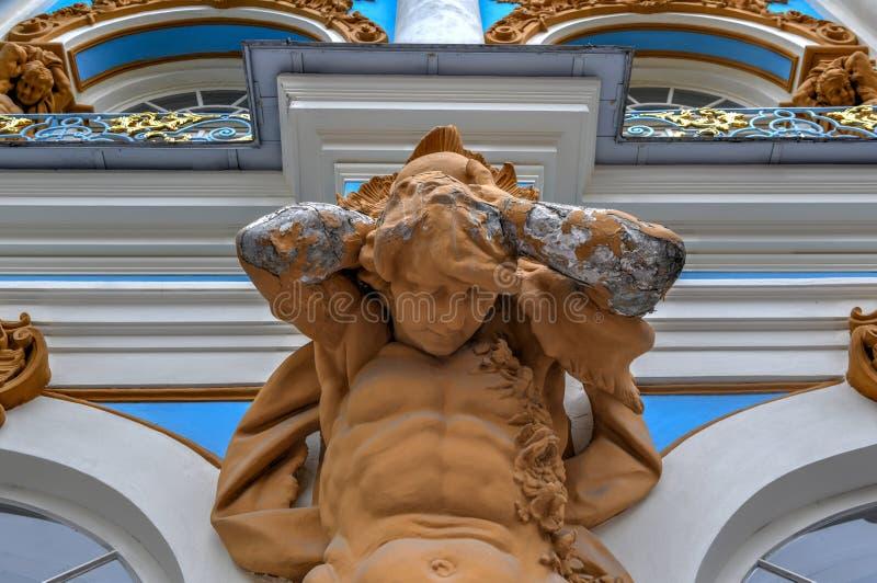 Παλάτι της Catherine - Pushkin, Άγιος Πετρούπολη, Ρωσία στοκ εικόνα με δικαίωμα ελεύθερης χρήσης