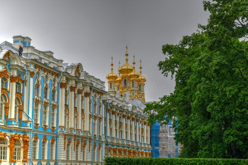 Παλάτι της Catherine - Pushkin, Άγιος Πετρούπολη, Ρωσία στοκ εικόνες με δικαίωμα ελεύθερης χρήσης