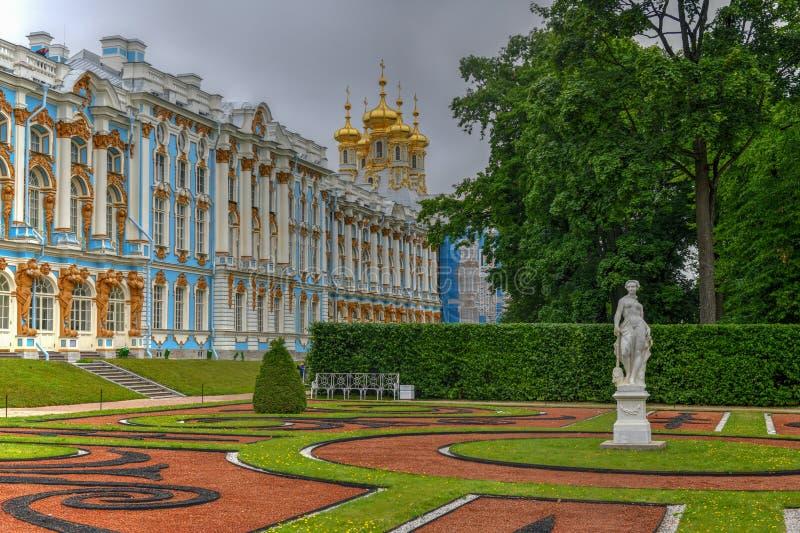 Παλάτι της Catherine - Pushkin, Άγιος Πετρούπολη, Ρωσία στοκ φωτογραφία με δικαίωμα ελεύθερης χρήσης
