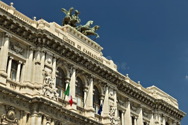 Παλάτι του δικαστηρίου της ακύρωσης στοκ εικόνες