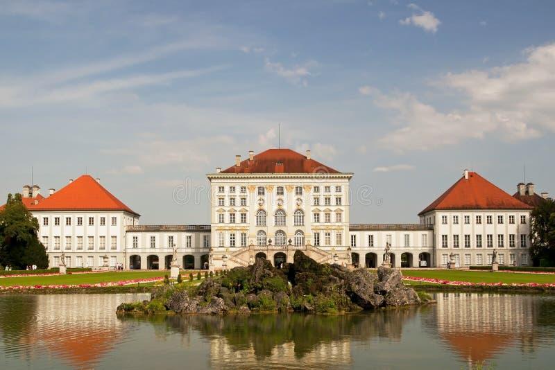 παλάτι του Μόναχου nymphenburg στοκ φωτογραφία με δικαίωμα ελεύθερης χρήσης