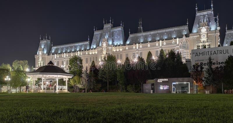 Παλάτι του πολιτισμού από την πόλη Iasi, Ρουμανία στοκ εικόνες