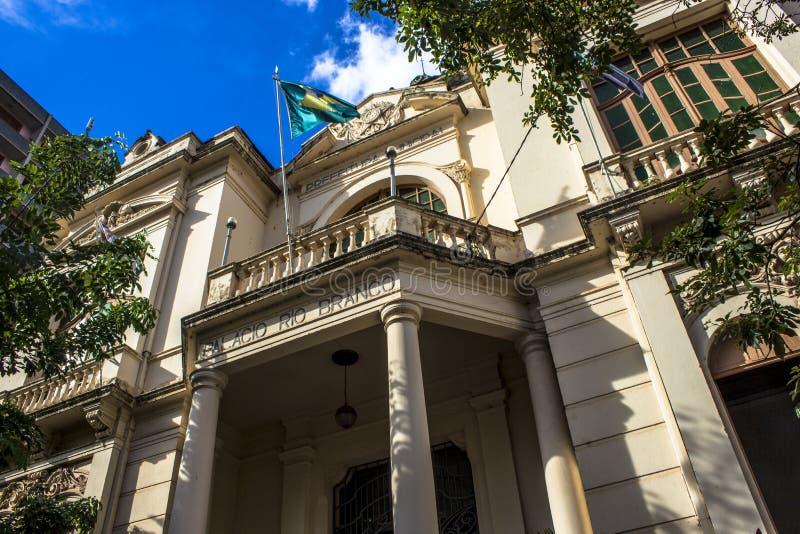 Παλάτι του Ρίο Branco στοκ φωτογραφίες