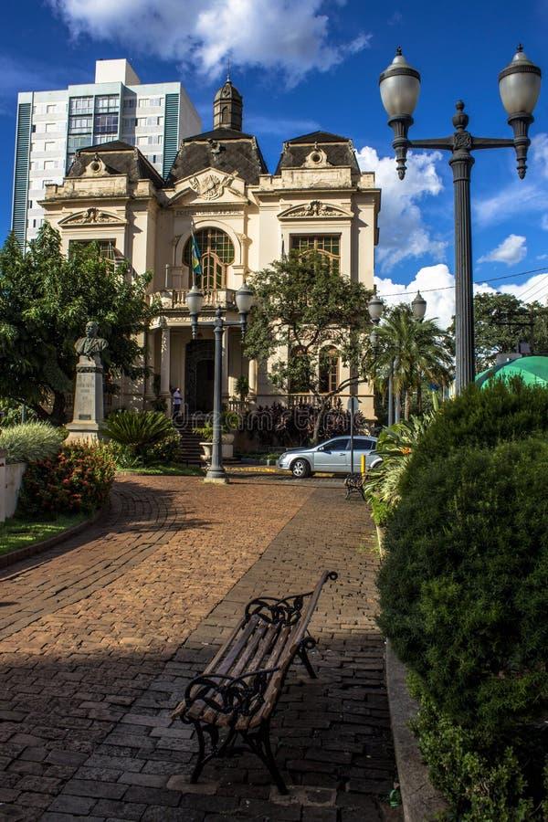 Παλάτι του Ρίο Branco στοκ εικόνες με δικαίωμα ελεύθερης χρήσης