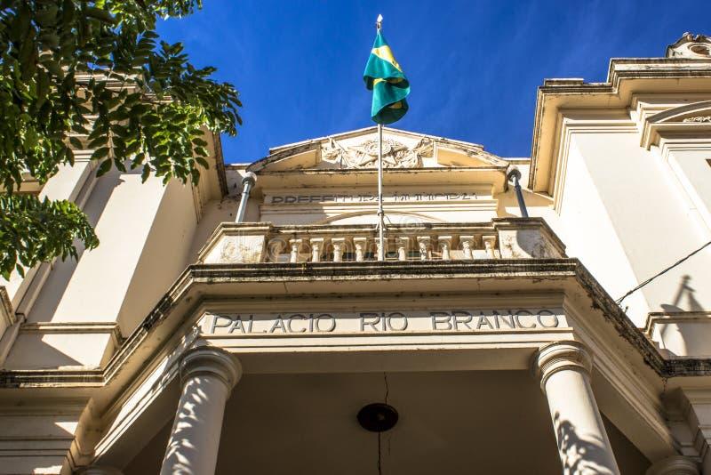 Παλάτι του Ρίο Branco στοκ εικόνες