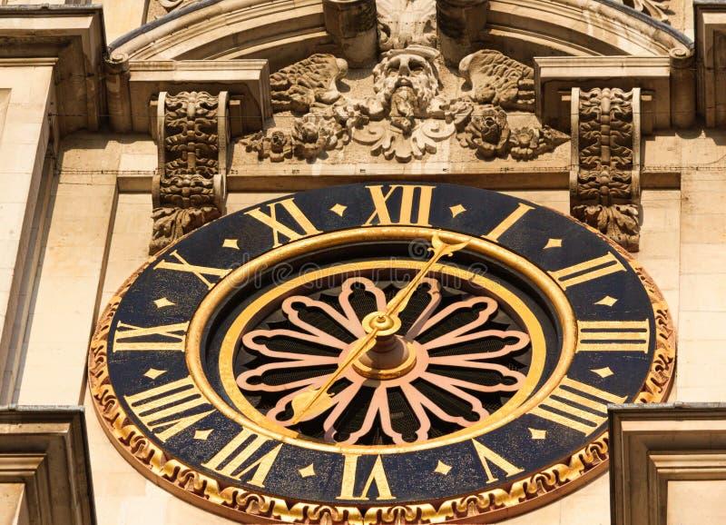 Παλάτι του ρολογιού του Γουέστμινστερ - Ι - Λονδίνο στοκ εικόνες