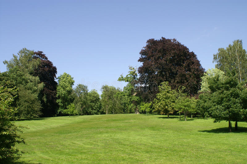 Παλάτι Blenheim. Κήπος. στοκ εικόνα με δικαίωμα ελεύθερης χρήσης