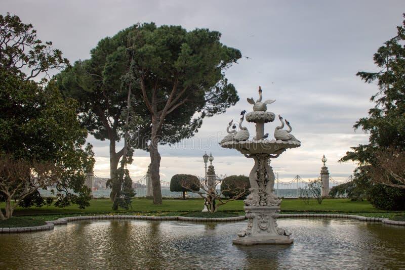 Παλάτι Dolmabahçe στη Ιστανμπούλ στοκ φωτογραφία