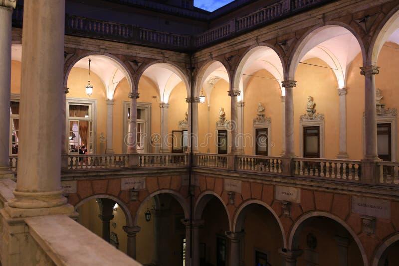 Παλάτι Doria Tursi _Γένοβα, Λιγυρία, Ιταλία, Ευρώπη στοκ εικόνες με δικαίωμα ελεύθερης χρήσης
