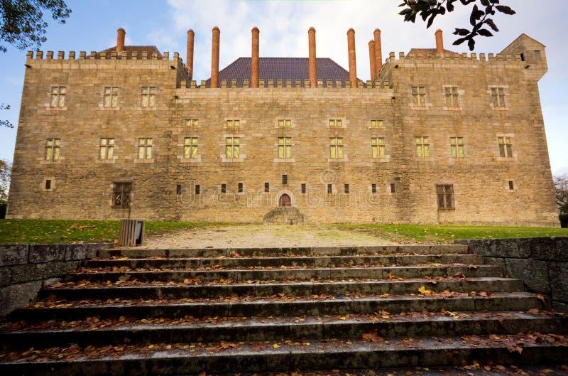 Παλάτι Duques de Braganca στοκ φωτογραφία με δικαίωμα ελεύθερης χρήσης
