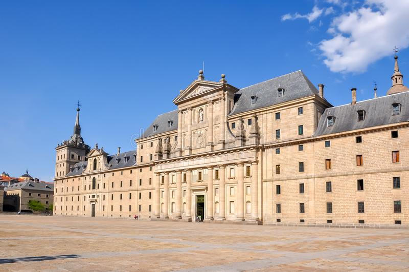 Παλάτι EL Escorial κοντά στη Μαδρίτη, Ισπανία στοκ εικόνες