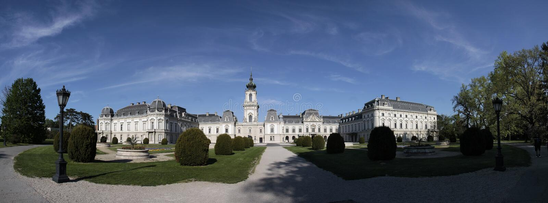 παλάτι festetics keszthely στοκ εικόνες