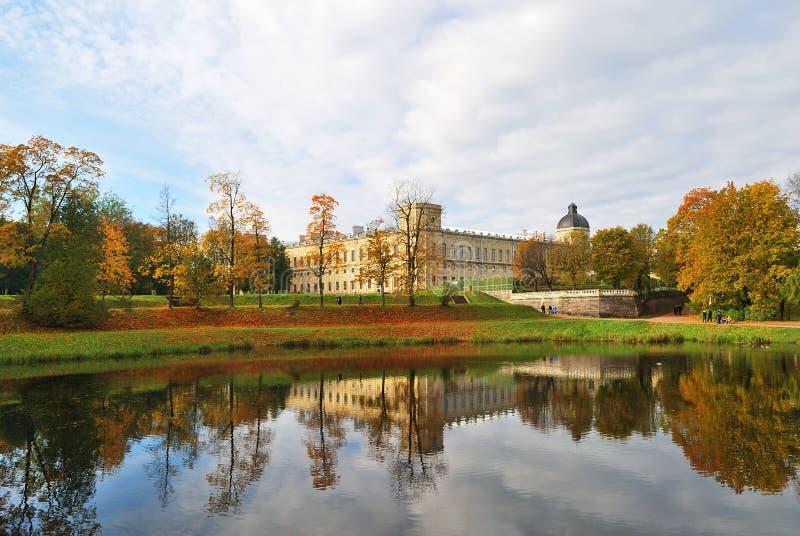 παλάτι gatchina στοκ φωτογραφίες με δικαίωμα ελεύθερης χρήσης