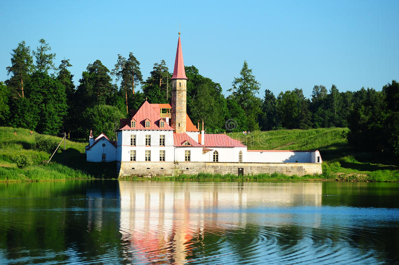 παλάτι gatchina priorat στοκ εικόνες με δικαίωμα ελεύθερης χρήσης