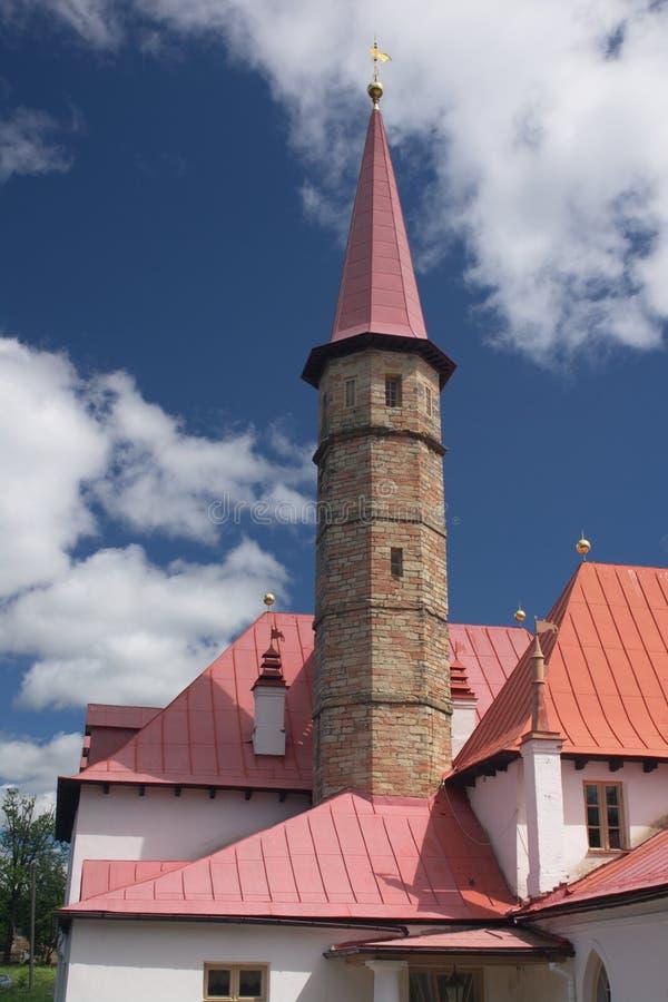 παλάτι gatchina priorat στοκ εικόνα